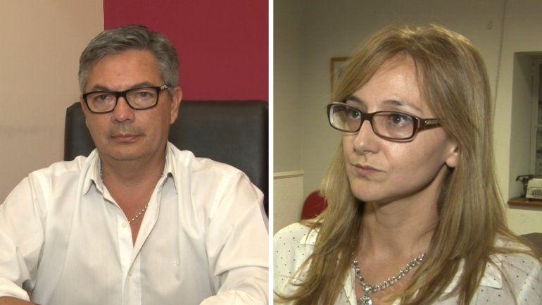 Diputados Fabian Tejerina y Gabriela Albornoz