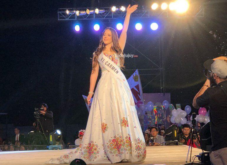 Luciana Garzón Giacoppo, de la región Valles, es la nueva reina provincial por el año 2018
