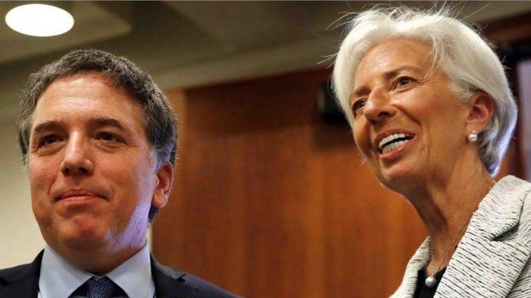 Desde Nueva York anunciaron el nuevo acuerdo con el FMI por 57.100 millones de dólares