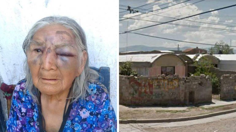 Abuela maltratada en Malvinas