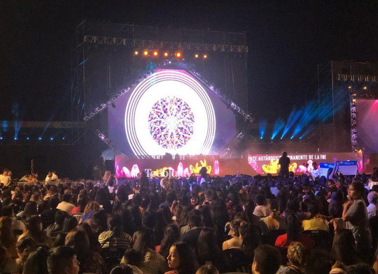 La Elección Reina Nacional se vivió a pleno en el estadio 23 de Agosto