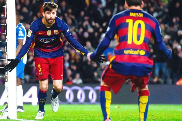La razón por la que Leo Messi y Gerard Piqué estarían peleados