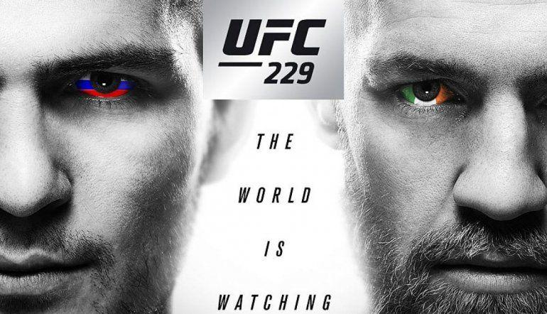 Este sábado UFC 229: Conor McGredor enfrentará a Khabib Nurmagomedov por la defensa del título ligero