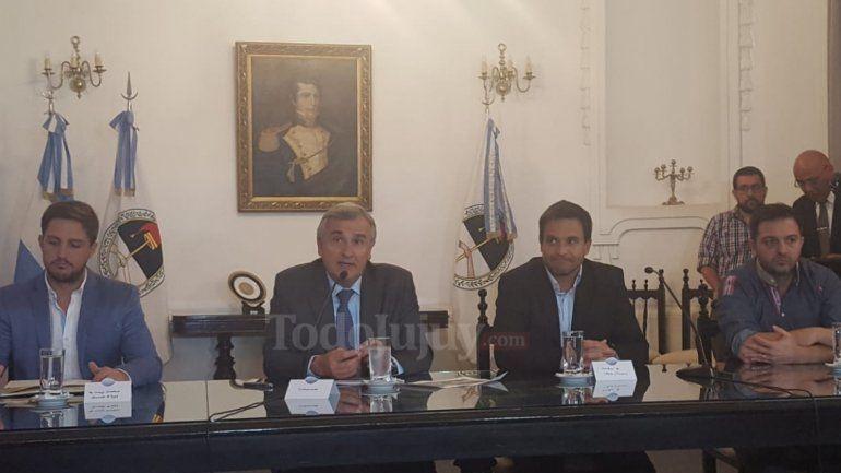 Gobernador Morales en Conferencia de Prensa - OCTUBRE 2018