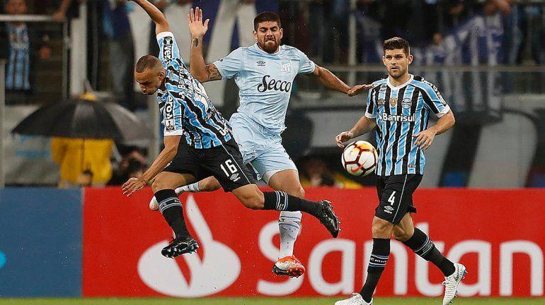 Atlético Tucumán cayó con Gremio y se despidió de una Copa Libertadores en la que hizo historia