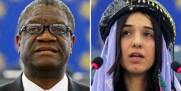 Nobel de la Paz para dos activistas de la lucha contra la violencia sexual