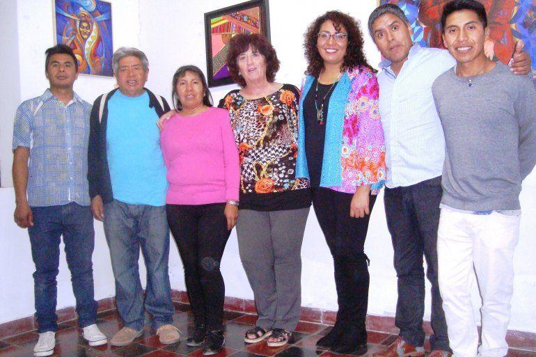 Artistas jujeños exponen la muestra Impredecibles en Tilcara