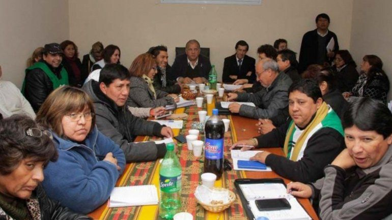 FOTO DE ARCHIVO: Reunión Gremios-Gobierno