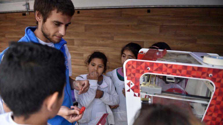 El laboratorio móvil de fabricación digital llegó a La Quiaca