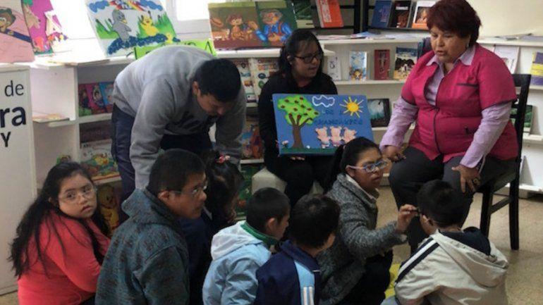 Maratón de lectura para chicos con Síndrome de Down de nivel primario