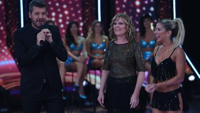 Laurita Fernández bailó junto a su mamá y no pudo safar de las preguntas incómodas de Tinelli