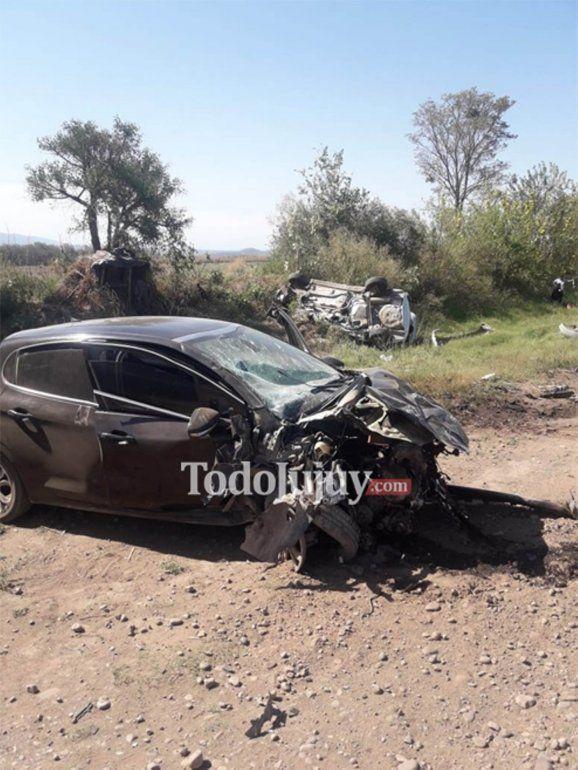 Accidente en ruta 34 entre un remis y un vehículo particular