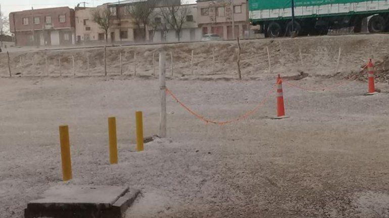 Fuerte caída de granizo en La Quiaca