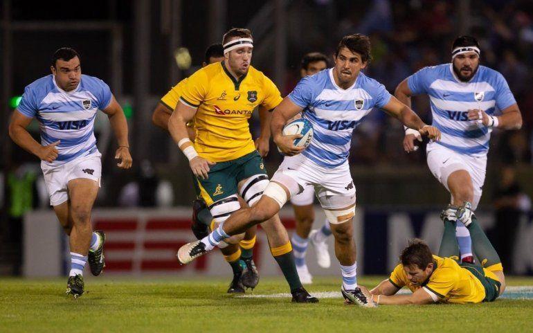 En un partido vibrante, Los Pumas cayeron ante el seleccionado australiano
