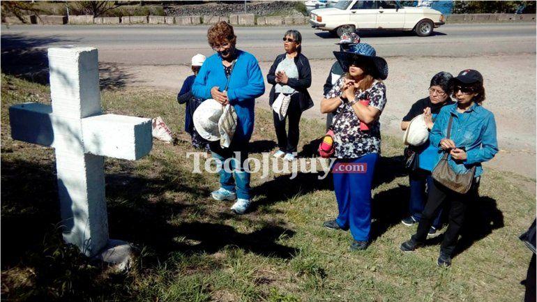 Jubilados jujeños peregrinaron en Córdoba en honor a la Virgen de Río Blanco