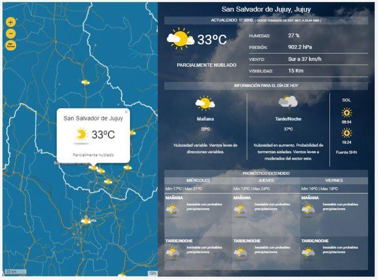 Anuncian precipitaciones desde hoy para lo que resta de la semana y alertan por probables tormentas fuertes