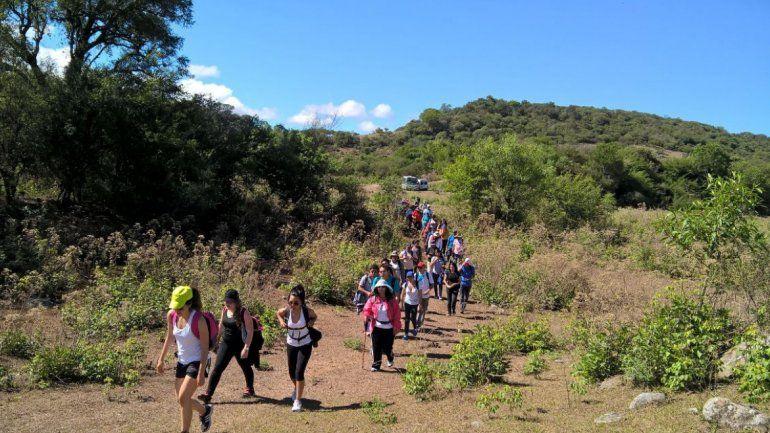 Trekking en Jujuy: La cita ahora es en Las Escaleras