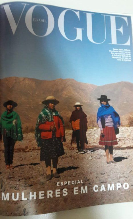 Mujeres de la Puna son tapa de la revista internacional Vogue de Brasil