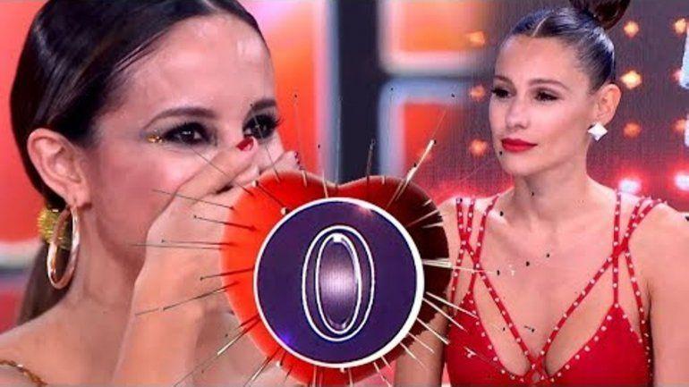 Pampita se vengó de Lourdes Sanchez y le puso un cero