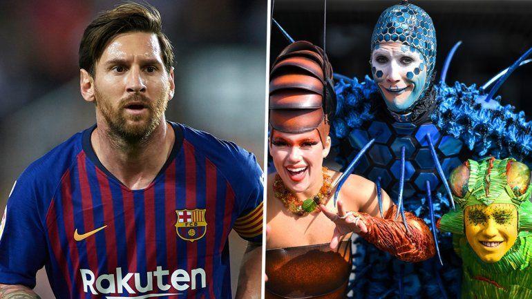 El Cirque du Solei está preparando un espectáculo basado en Lionel Messi