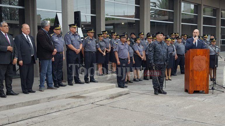 Cambios en la cúpula de la Policía de la Provincia