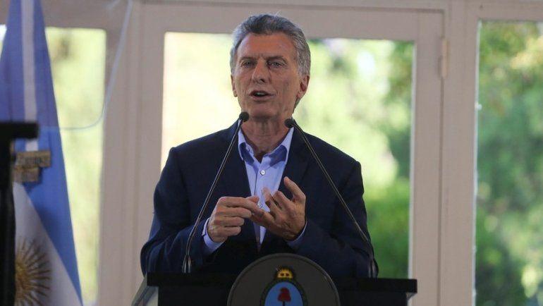 Macri: Les agradezco a los argentinos que le han puesto el hombro a semejante depreciación de la moneda
