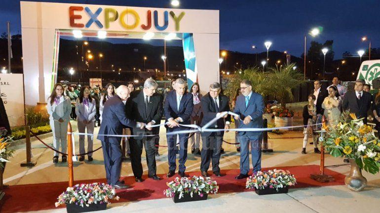 Inauguración ExpoJuy 2018