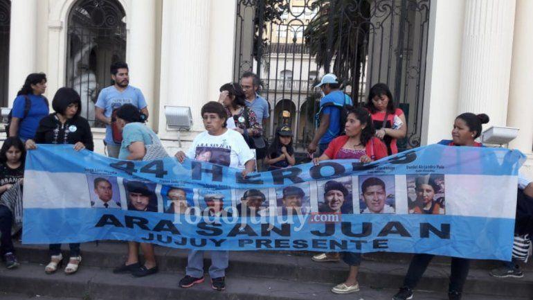 Tripulantes de Jujuy en el ARA San Juan: los familiares afirman que es un dolor muy grande, pero a la vez un alivio