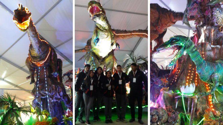 La carroza de la EET de Palpalá se lleva las miradas en la ExpoJuy 2018