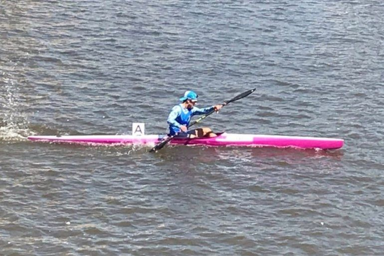 Kayak:Valentín Rossiganó la medalla de bronce