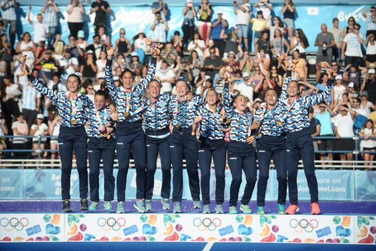 Hockey femenino: Las Leoncitas se quedaron con la de oro
