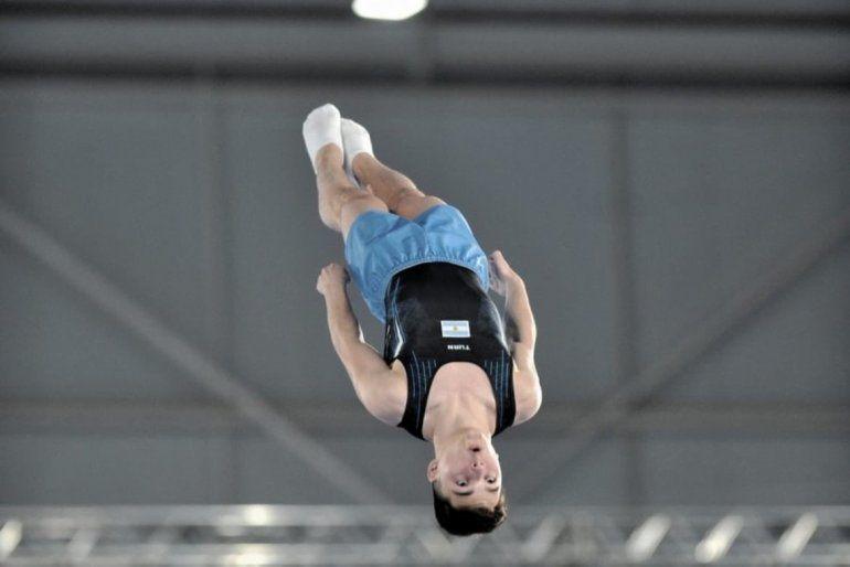 Gimnasia (por equipos):Santiago Escallierintegró el equipo que fue tercero en las pruebas multidisciplinaria
