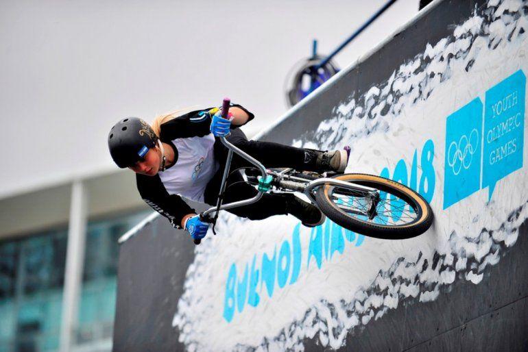 BMX:La dupla conformada porAgustina Roth e Iñaki Mazza Iriartes consiguieron el oro