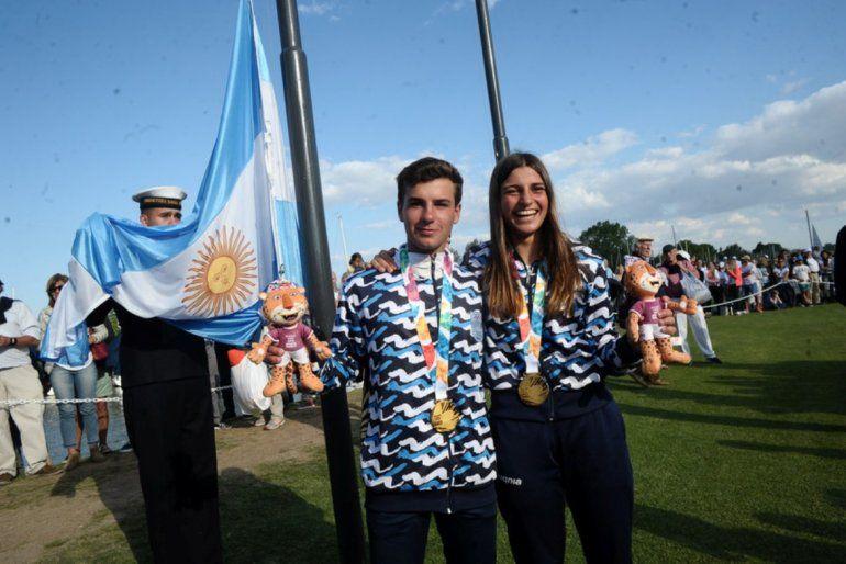 Vela:Dante Cittadini y Teresa Romaironese quedaron con la medalla de oro
