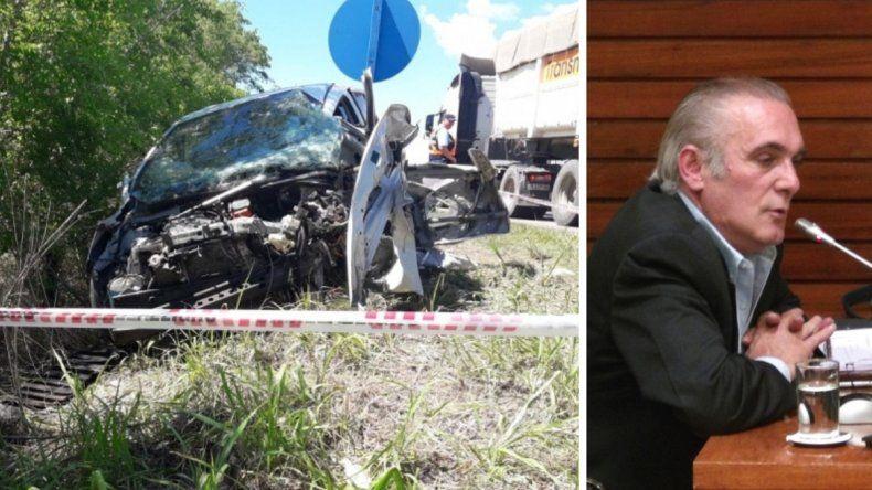 Falleció el ex diputado provincial Octavio Herrera en un accidente de tránsito
