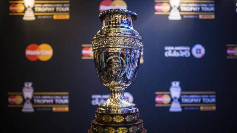 24 de enero, la fecha del sorteo de la Copa América