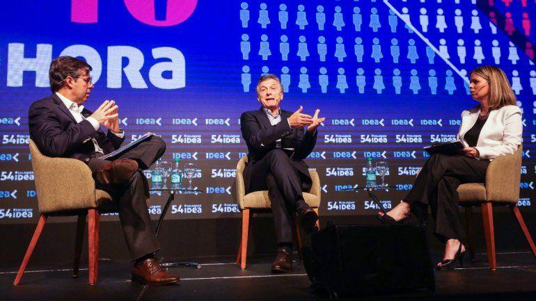 Macri le volvió a apuntar a Moyano: No podemos tener métodos mafiosos