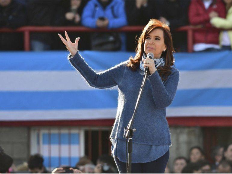 Dictaron falta de mérito para Cristina Fernández de Kirchner en la causa Ruta del dinero K