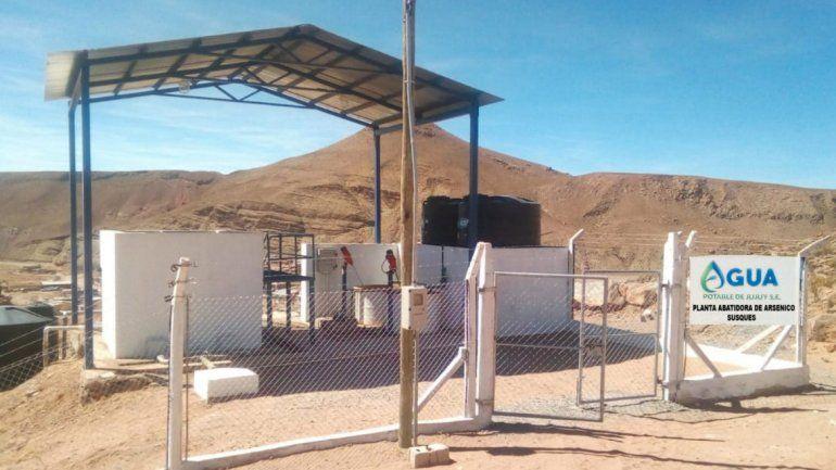 Susques: construyeron la primera planta abatidora de arsénico de la provincia