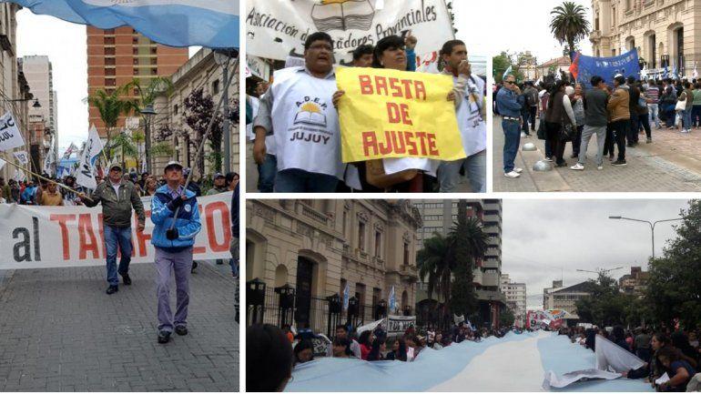 Marchas en Jujuy