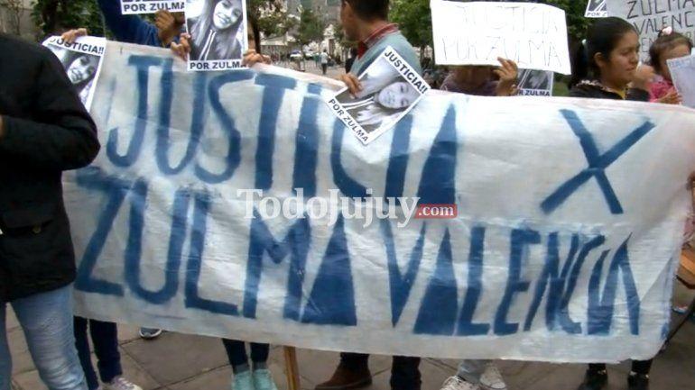Familiares y amigos de Zulma Valencia pidieron justicia