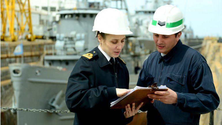 ¿Sos profesional? Podés inscribirte para formar parte del Cuerpo Profesional de la Armada Argentina