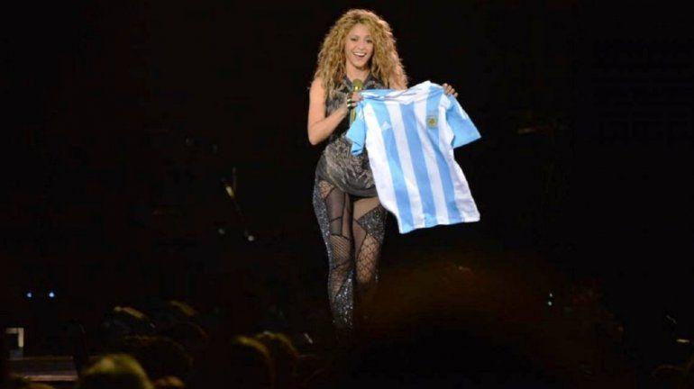Shakira homenajeó a Gustavo Cerati en su show en Buenos Aires