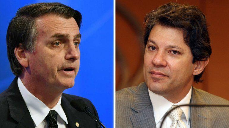 Brasil elige presidente en una segunda vuelta histórica entre Bolsonaro y Haddad