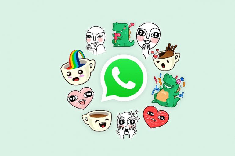 Llegaron los stickers a WhatsApp: mirá cómo activarlos