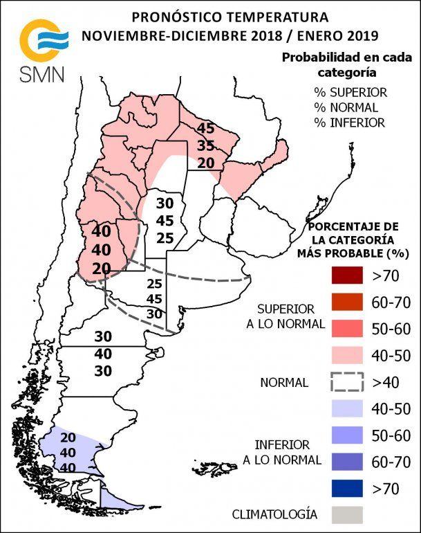 Los últimos meses de 2018 serán calurosos y con mucha lluvia en Jujuy