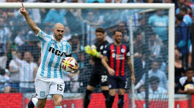 Superliga Argentina de Fútbol: Racing 2 - San Lorenzo 1