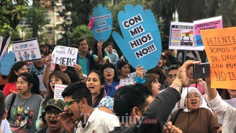 Marcharán una vez más en contra de la Educación Sexual cargada de Ideología de Genero en Jujuy