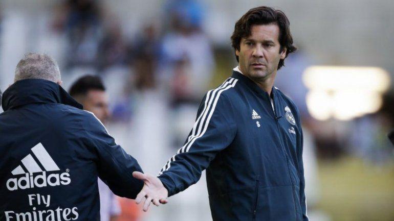 Santiago Solari será el técnico interino del Real Madrid