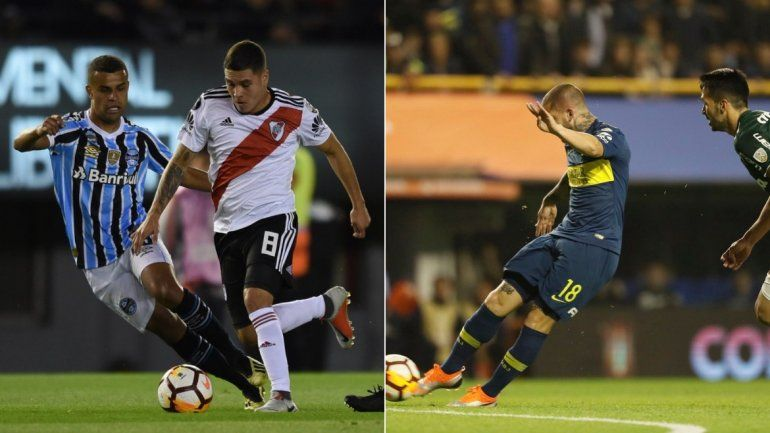 River y Boca en las semifinales de la Libertadores: horario y frecuencia para seguir cada partido